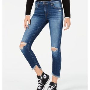 STS Blue ankle Emma distressed skinny jean 30 new